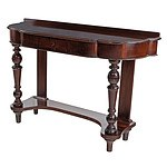 Victorian Mahogany Hall Table Circa 1880