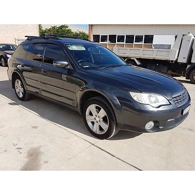 11/2008 Subaru Outback 2.5i MY09 4d Wagon Grey 2.5L