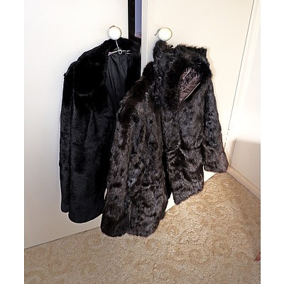 Vintage Ladies Fur Jackets