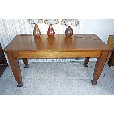 Federation Hardwood Library Table