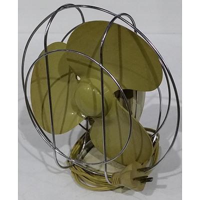 Vintage Airflow Electric Desk Fan