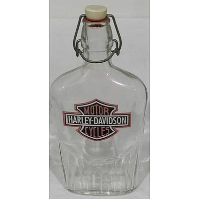 Harley Davidson Whiskey Bottle
