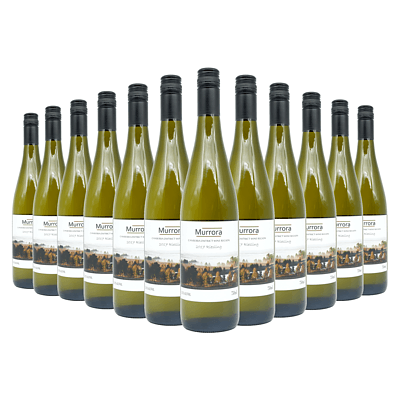 Case of 12x 750ml Bottles of Murrora 2017 Riesling - RRP: $170
