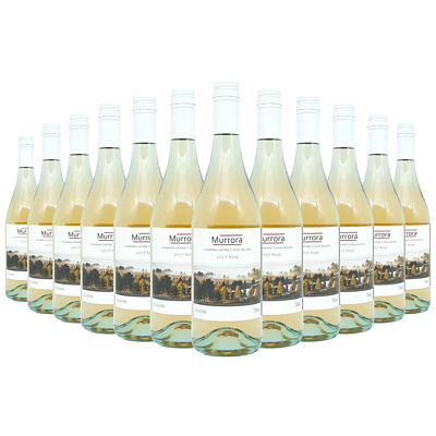 Case of 12x 750ml Bottles of Murrora 2017 Rose - RRP: $170