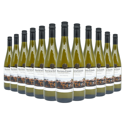 Case of 12x 750ml Bottles of Murrora 2015 Riesling - RRP: $170