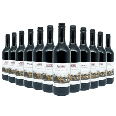 Case of 12x 750ml Bottles of Murrora 2016 Cabernet Sauvignon - RRP: $216
