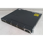 Cisco Catalyst (WS-C3750X-48P-S V02) 3750-X Series PoE+ 48-Port Gigabit Managed Switch