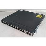 Cisco Catalyst (WS-C3750X-48P-S V02) 3750-X Series PoE+ 48-Port Gigabit Managed Switch
