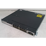 Cisco Catalyst (WS-C3750X-24T-S V01) 3750-X Series 24-Port Gigabit Managed Switch