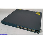 Cisco Catalyst (WS-C3560E-24PD-S V03) 3560-E Series PoE-24 24-Port Gigabit Managed Switch
