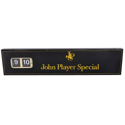 John Player Special Display Clock