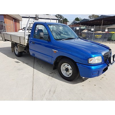 11/2003 Mazda B2600 Bravo DX  C/chas Blue 2.6L