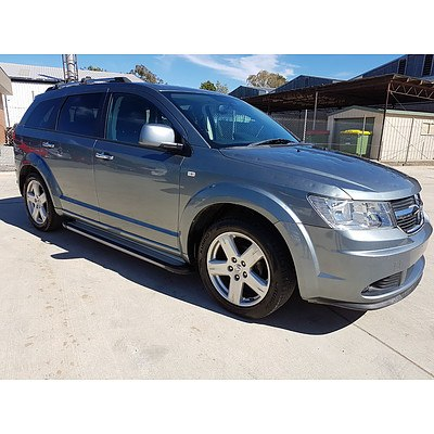 4/2011 Dodge Journey R/T JC MY10 4d Wagon Grey 2.7L