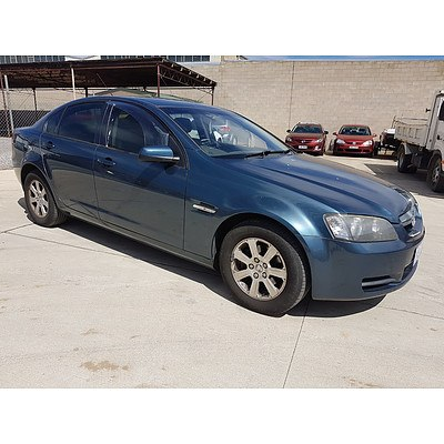 4/2009 Holden Commodore Omega VE MY09.5 4d Sedan Blue 3.6L