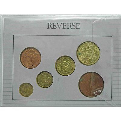 Australian Pre-Decimal Coin Collection - Cased