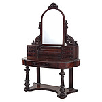 Victorian Mahogany Dressing Table Circa 1880