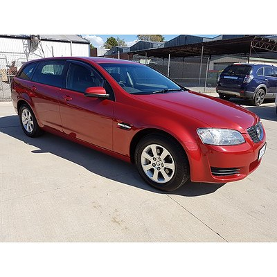 11/2010 Holden Commodore Omega VE MY10 4d Sportwagon Red 3.0L