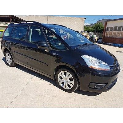 9/2010 Citroen C4 Picasso HDI MY10 4d Wagon Black 2.0L