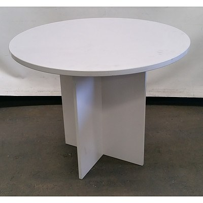 Round Top Office Table