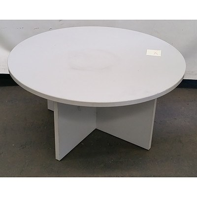 Grey Office Coffee Table