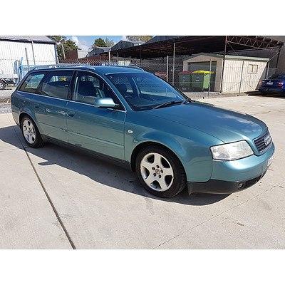 1/2001 Audi A6 1.8T Avant 4d Wagon Blue 1.8L