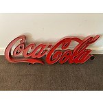 COCA-COLA RETRO SIGN/ LIGHT