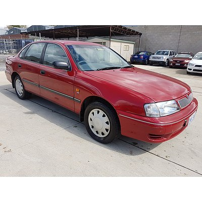 6/2000 Toyota Avalon Conquest MCX10R 4d Sedan Red 3.0L