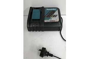 Makita DC18RC 7.2-18V Battery Chargers -Lot Of Five