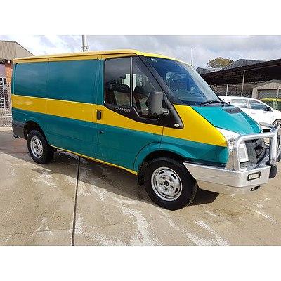 10/2007 Ford Transit LOW (swb) VM Van Green/Yellow 2.2L
