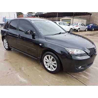 8/2006 Mazda Mazda3 MAXX Sport BK MY06 UPGRADE 5d Hatchback Black 2.0L