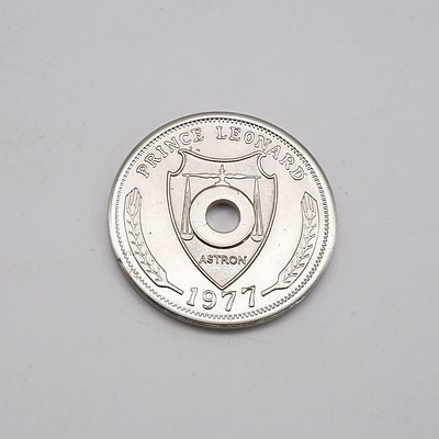 1977 Hutt River Provence Queens Jubilee One Dollar Coin