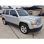 1/2014 Jeep Patriot Sport (4x2) MK MY14 4d Wagon Silver 2.0L