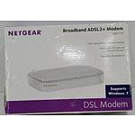 Netgear Broadband ADSL2 And Modem
