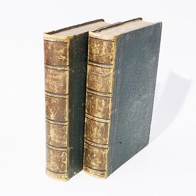 Volumes One and Two Complements de Buffon, P. Lesson, Garnier freres, Paris, 1848