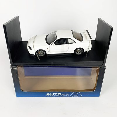 AUTOart Nissan Skyline GT-R V-Spec S1 1:18 Scale Model Car