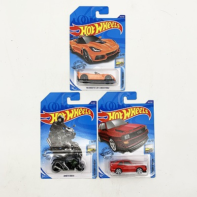 Hot Wheels Collection Model Cars and Motorbike - Factory Fresh
