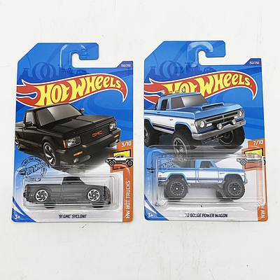 Hot Wheels Collection Model Cars - HW Hot Trucks
