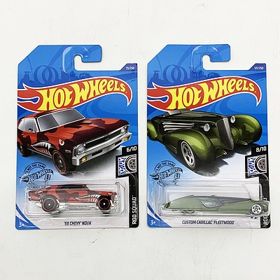 Hot Wheels Collection Model Cars - Rod Squad