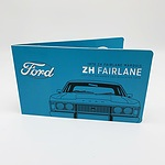 2017 50c Coloured Uncirculated Coin - 1976 Ford ZH Fairlane Marquis