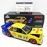 Biante Ford Falcon EB 1994 Sandown 500 Winner 456/750 1:18 Scale Model Car (Hand Signed Signed COA)