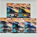 Complete Hot Wheels Premium Collection Model Cars - Street Tuners