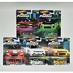 Complete Hot Wheels Premium Collection Model Cars - Original Fast - Fast & Furious