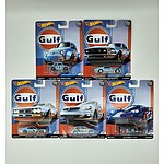 Complete Hot Wheels Premium Collection Model Cars - Gulf