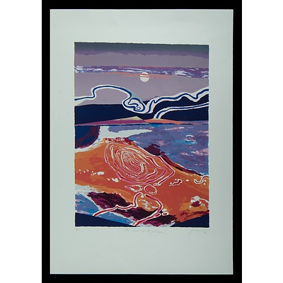 JUNIPER Robert (1929-2012), 'The Night of the Full Moon', 1988