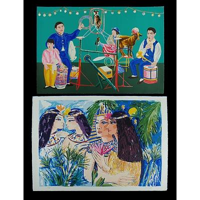 ZOFREA Salvatore (Born 1946) (2), 'Psalm 19', & 'Cleopatra'