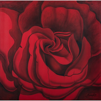 KARAPETIAN Ashot (Born 1954), Rose