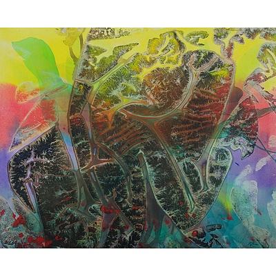 LANE Richard (Born 1939), 'Great Barrier Reef Series No1 - Turtles'