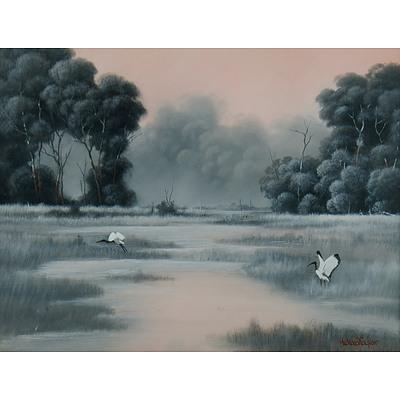 TAYLOR Michael John (Born 1939), 'Taking Flight'