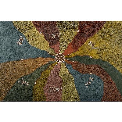 Aboriginal School Artist Unknown, Untitled (Bush Tucker)
