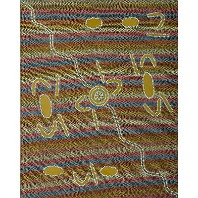 WAKO Morris (Aboriginal Born 1970), Untitled